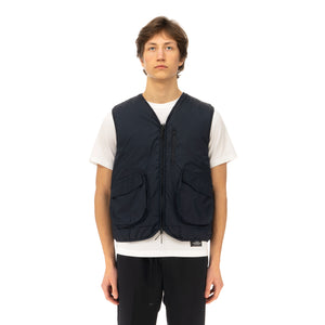 Soulland | Clay Vest Navy - Concrete