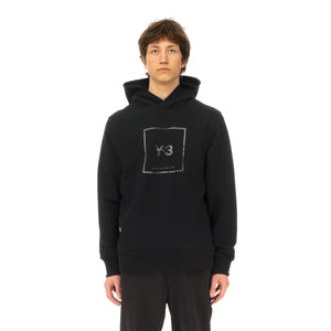 adidas Y-3 | U Square Label Graphic Hoodie Black - GV6056 - Concrete