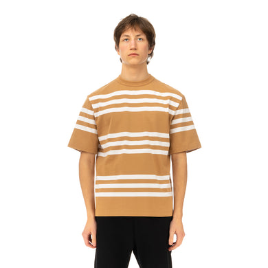Haversack | Stripe T-Shirt 812004-31 Beige - Concrete