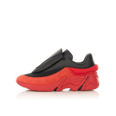 RAF SIMONS (RUNNER) | Antei Black Red - Concrete