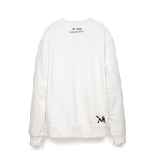 Load image into Gallery viewer, Calvin Klein Jeans Est. 1978 Icon Embroidery Crewneck Bright White