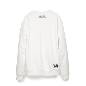 Calvin Klein Jeans Est. 1978 Icon Embroidery Crewneck Bright White