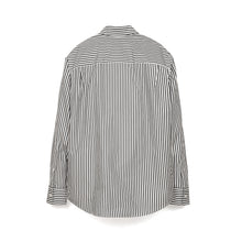 Afbeelding in Gallery-weergave laden, Calvin Klein Jeans Est. 1978 Icon Logo Stripe Poplin Shirt Bight White/ CK Black