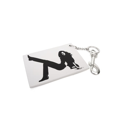 Calvin Klein Jeans Est. 1978 | Icon Key Chain Bright White - Concrete
