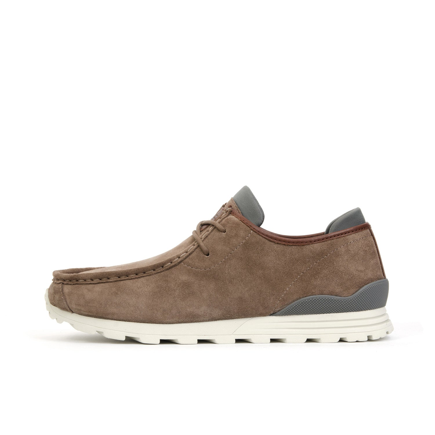 Clae Hopper Redwood Suede - Concrete