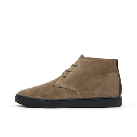 Clae Strayhorn Sp Redwood Suede - Concrete