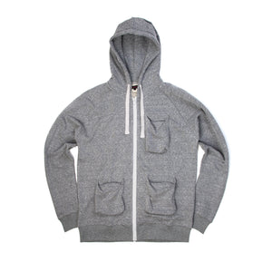 CLOT | Kung Fu Parka Heather Grey - Concrete