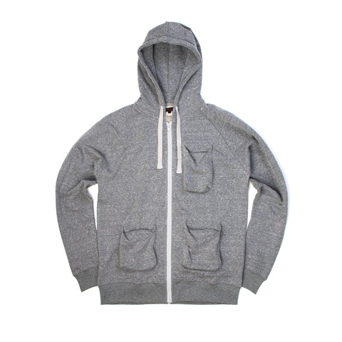 CLOT Kung Fu Parka Heather Grey