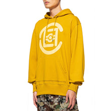 將圖像加載到畫廊查看器中CLOT | Fifth Elemental Clot Logo Applique Hoodie Yellow - Concrete