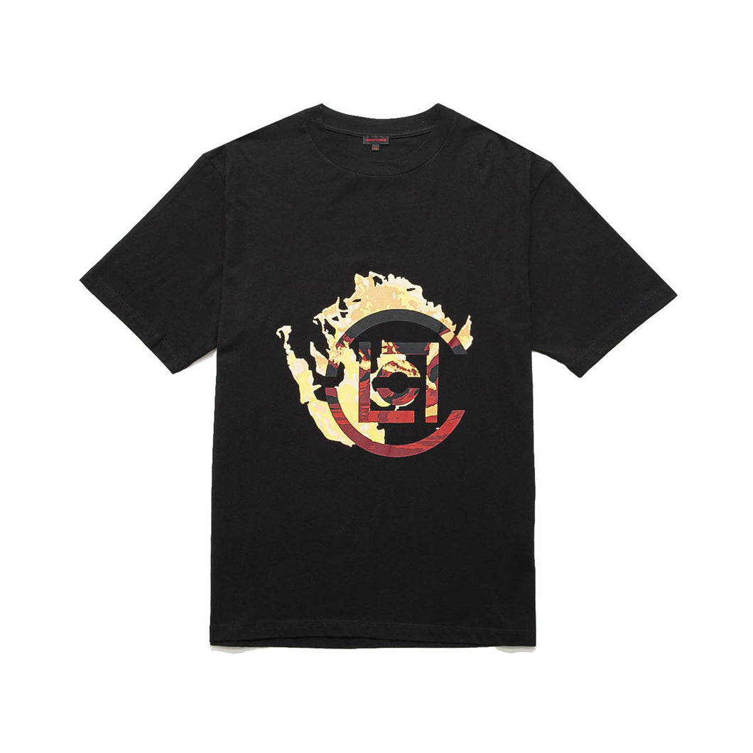 CLOT | Logo Flame T-Shirt Black