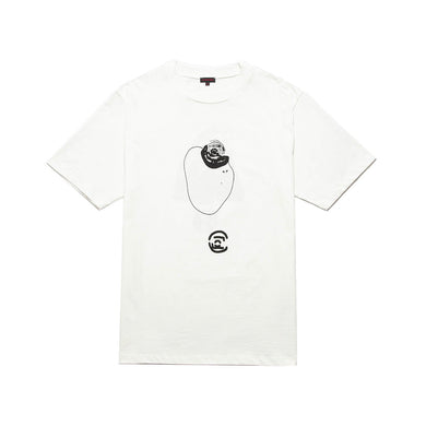 CLOT | Abstract Graphic T-Shirt 8 White