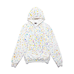 CLOT | Paintsplatter Hoodie (Hand Finished) White - Concrete