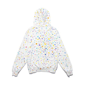 CLOT | Paintsplatter Hoodie (Hand Finished) White