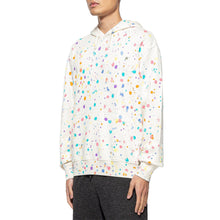 Load image into Gallery viewer, CLOT | Paintsplatter Hoodie (Hand Finished) White
