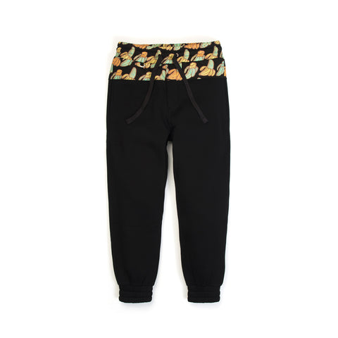 CLOT Sk8thing Banana Sweat Pants Black