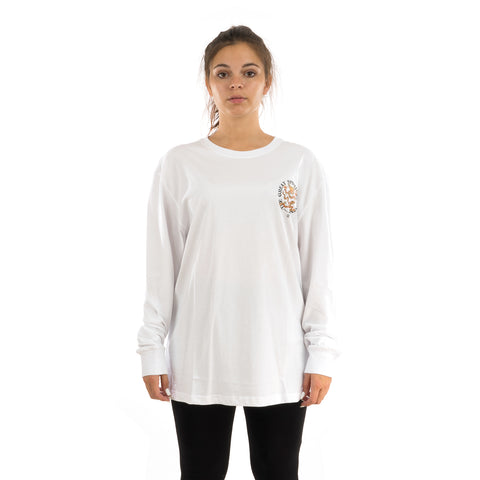 CLOT Spiritual Dragon L/S T-Shirt White