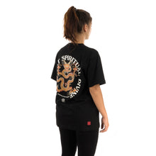 Load image into Gallery viewer, CLOT | Spiritual Dragon T-Shirt Black - Concrete