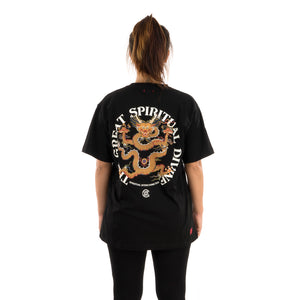 CLOT Spiritual Dragon T-Shirt Black
