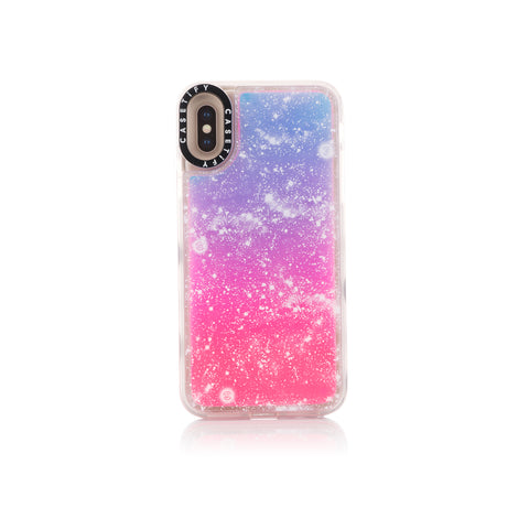 CLOT Stars All Over Neon Sand iPhone Case X/XS Pink