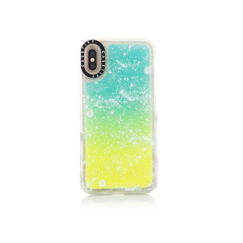 CLOT Stars All Over Neon Sand iPhone Case X/XS Yellow