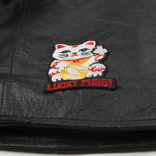 將圖像加載到畫廊查看器中Ground Zero | Patches Leather Jacket Black - Concrete