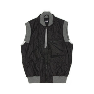 Christopher Raeburn Zipfront Quilted Gilet - Concrete