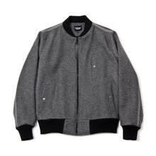Load image into Gallery viewer, Christopher Raeburn Wool Bomber Grey - Concrete