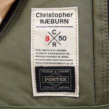 Load image into Gallery viewer, Christopher Raeburn x Porter Men's Camo Remade Rucksack Olive - Concrete
