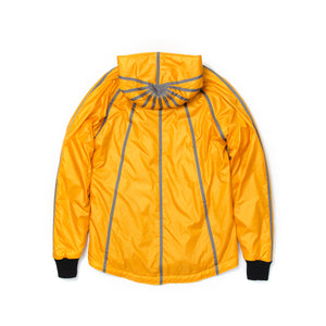 Christopher Raeburn Men's Filled Hoodie Yellow - Concrete