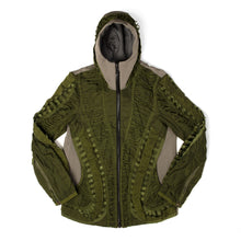 Load image into Gallery viewer, Christopher Raeburn Men's Remade MIG Hooded Jacket Olive - Concrete
