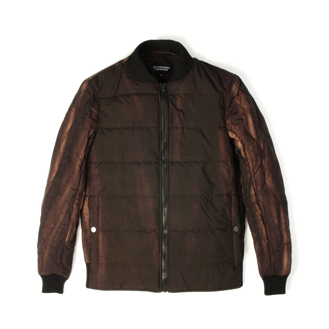 Christopher Raeburn Men's Quilted Bomber Rust - Concrete