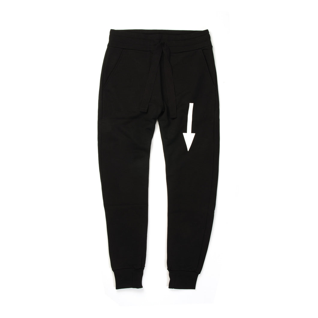 Christopher Raeburn Men's Arrow Jogger Black - Concrete