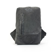 Load image into Gallery viewer, Christopher Raeburn Men's Remade Rucksack Black - Concrete