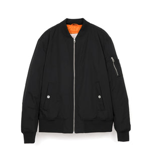 Calvin Klein Jeans Est. 1978 AOP Icon On Back Bomber Black