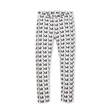 Load image into Gallery viewer, Calvin Klein Jeans Est. 1978 Narrow AOP Icon Pants White/Black