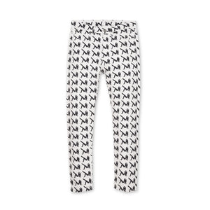 Calvin Klein Jeans Est. 1978 Narrow AOP Icon Pants White/Black