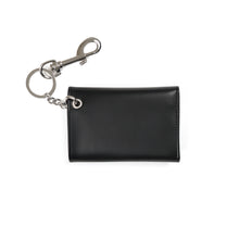將圖像加載到畫廊查看器中Calvin Klein Jeans Est. 1978 Wallet w/ Chain Patch Black