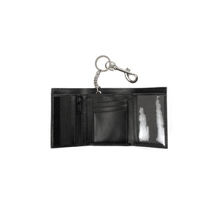 Calvin Klein Jeans Est. 1978 Wallet w/ Chain Patch Black - Concrete