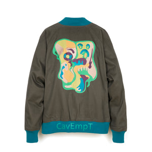 C.E. Cav Empt Cotton Twill Cobra Jacket Navy