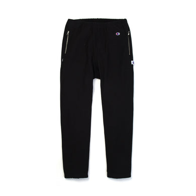 Champion x Beams Elastic Cuff Pants Black - Concrete