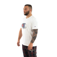 Load image into Gallery viewer, Champion | x Clothsurgeon Double Logo T-Shirt Optic White - Concrete