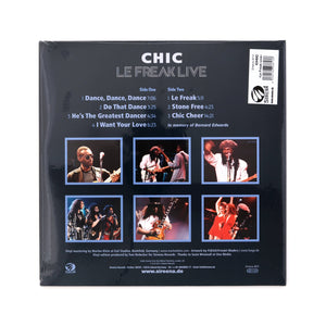 Chic-Le Freak Live LP - Concrete