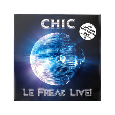 Chic-Le Freak Live LP - Concrete - 4260182988138