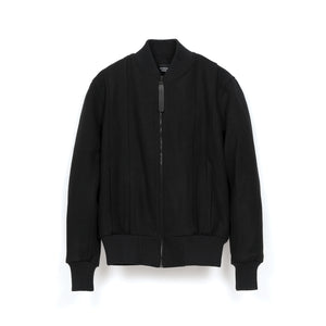 Christopher Raeburn Wool Bomber Black - Concrete