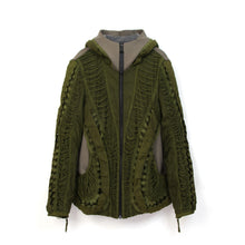 Load image into Gallery viewer, Christopher Raeburn Men's Remade MIG Hooded Jacket Olive