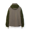 Christopher Raeburn Men's Remade MIG Hooded Jacket Olive
