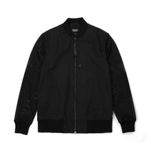 Afbeelding in Gallery-weergave laden, Christopher Raeburn Men's Mesh Zip Front Bomber Black - Concrete