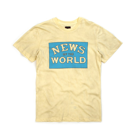 CLOT Zoe Vance News Of The World Tee Cream