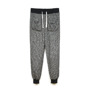 CLOT Light Weight Sweat Pants Heather Black