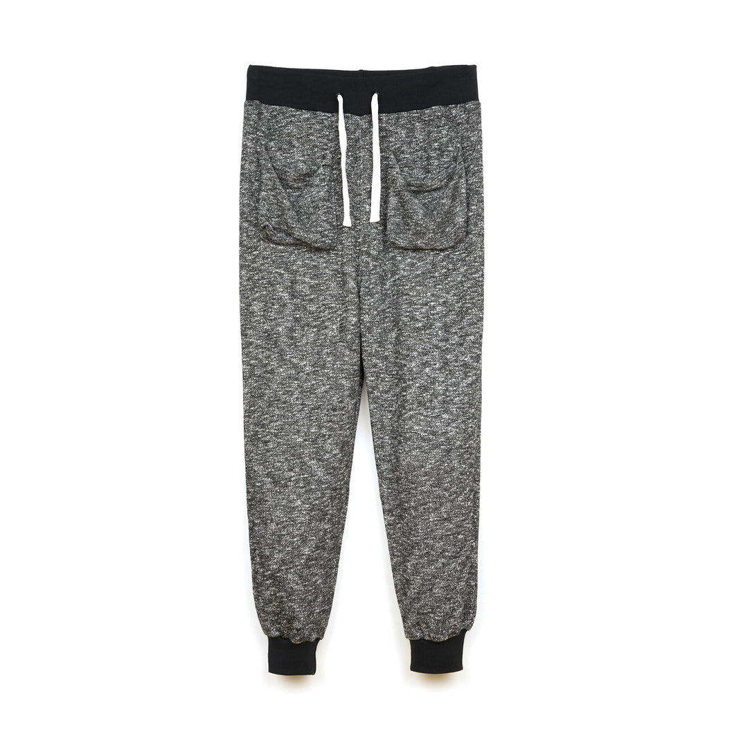 CLOT | Light Weight Sweat Pants Heather Black - Concrete